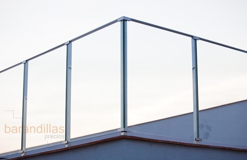 Cristal v1 barandillas - Barandilla de madera exterior ...