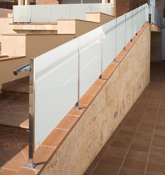 Barandillas precios exterior cristal barandillas for Barandas para terrazas