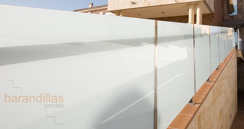 Cristal v5 barandillas for Barandillas de cristal para terrazas