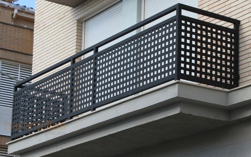 Barandillas precios exterior hierro barandillas for Barandilla escalera exterior