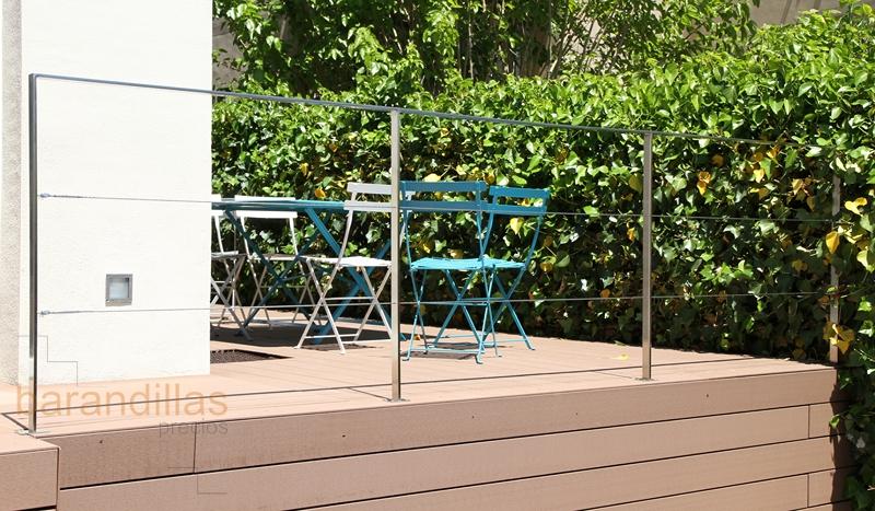 Barandilla madera exterior excellent diseo de interiores - Barandilla de madera exterior ...