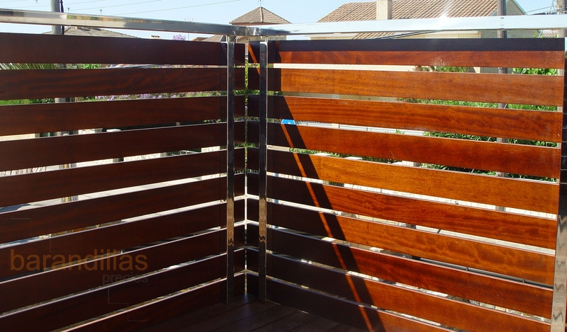 Madera m1 barandillas - Precios barandillas de madera ...