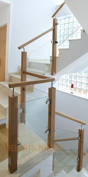 Cristal vi10 barandillas - Barandilla cristal escalera ...
