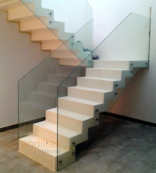 De vidrio para escalera barandillas y pasamanos escaleras - Barandillas de escaleras ...
