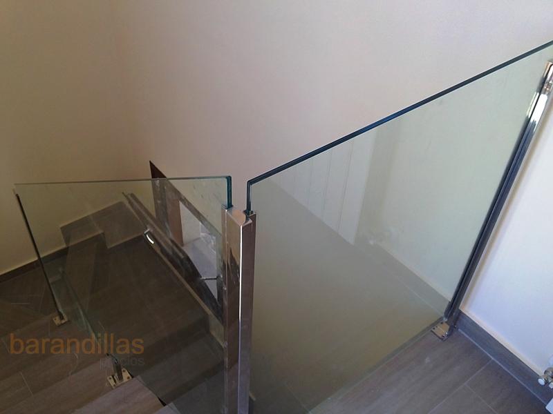 Cristal vi12 barandillas for Barandillas escaleras interiores precios