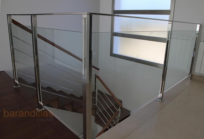 Barandillas de escaleras gallery of click to enlarge - Escaleras aluminio precios ...