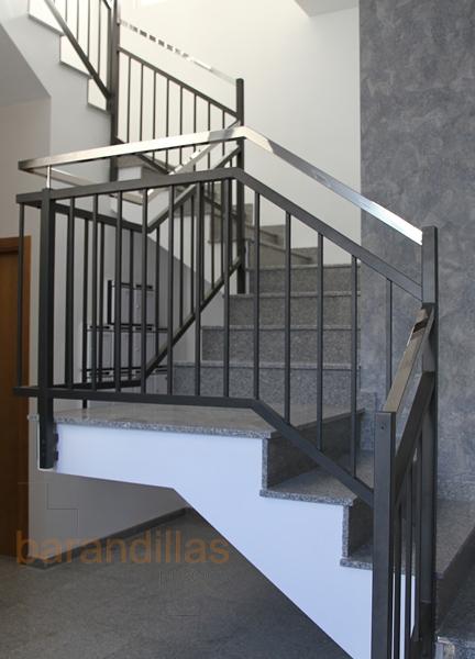 Hierro hi1 barandillas - Barandilla escalera interior ...