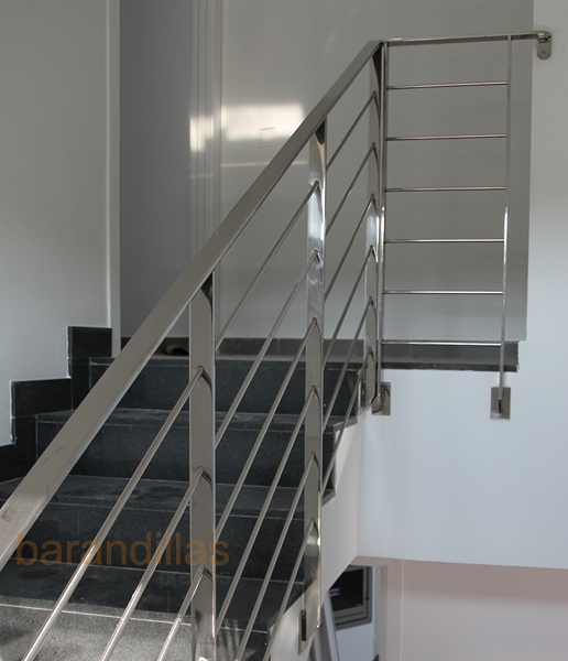 Inox inox10 barandillas for Barandillas escaleras interiores precios