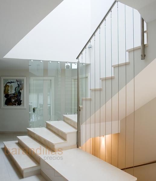 Barandillas precios interior acero inoxidable barandillas - Barandas para escaleras de interior ...