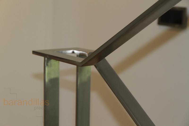 Inox inox4 barandillas - Barandillas de madera para interior ...