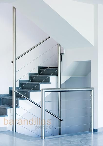 barandillas precios interior acero inoxidable. Black Bedroom Furniture Sets. Home Design Ideas