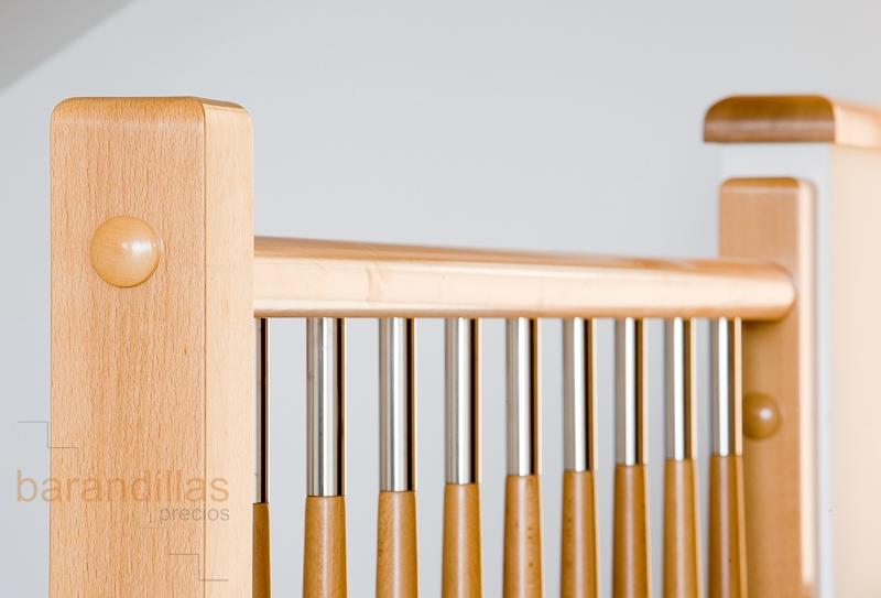 Madera f1 barandillas - Barandillas de madera para interior ...