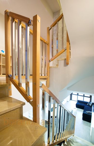 Madera f4 barandillas - Barandillas de madera para interior ...