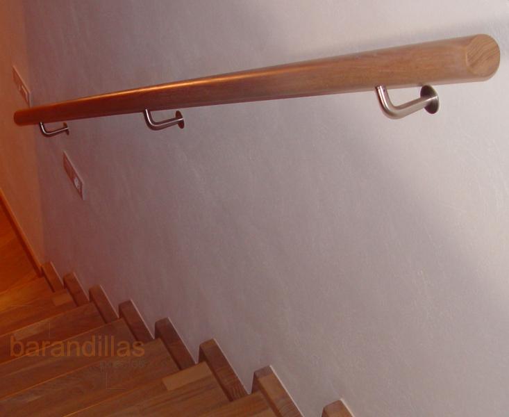 Pasamanos p1 barandillas - Madera para pared interior ...
